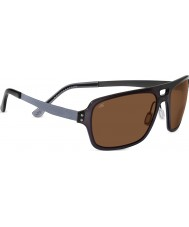 Serengeti Nunzio Crystal Dark Charcoal Polarized PhD Drivers Sunglasses
