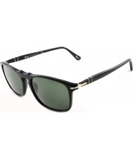 Persol PO3059S 54 Suprema Black 95-31 Sunglasses