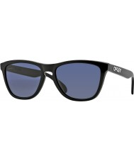Oakley OO9013-06 Frogskins Polished Black - Grey Sunglasses