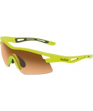 Bolle Vortex Neon Yellow Modulator Amber Sunglasses