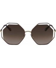 Chloe Ladies CE132S 213 58 Poppy Sunglasses