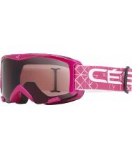 Cebe 1340D003S Bionic Pink - Dark Rose Ski Goggles