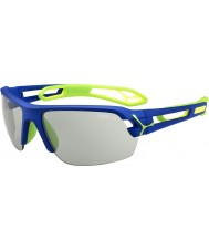 Cebe S-Track Medium Dark Blue Green Variochrom Perfo Sunglasses