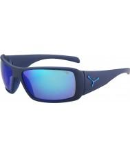 Cebe Utopy Matt Blue 1500 Grey Flash Mirror Blue Sunglasses