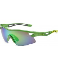 Bolle Limited Edition Vortex Orica Green Brown Emerald Sunglasses