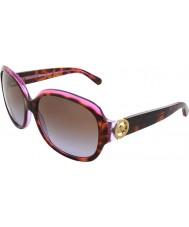 Michael Kors MK6004 59 Kauai Tortoise Pink Purple 300368 Sunglasses