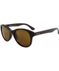 RayBan RB4203 51 Highstreet Shiny Brown 714 Sunglasses