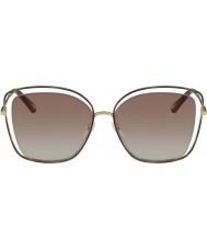 Chloe Ladies CE133S 205 60 Poppy Sunglasses