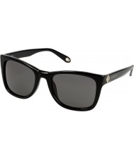 Givenchy Ladies SGV874-700 Black Sunglasses