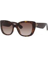 Kate Spade New York Ladies Andrina-S EDJ B1 Havana Sunglasses