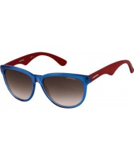 Carrera Ladies Carrera 6004 BDT JS Blue Red Sunglasses