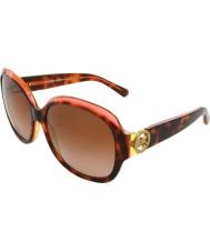 Michael Kors MK6004 59 Kauai Tortoise Pink Yellow 300413 Sunglasses