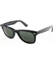 RayBan RB2140 54 Original Wayfarer Black Green 901 Sunglasses