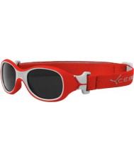 Cebe Chouka (Age 0-1) Red Sunglasses