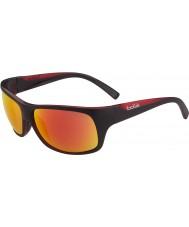 Bolle Viper Matte Black Red TNS Fire Sunglasses