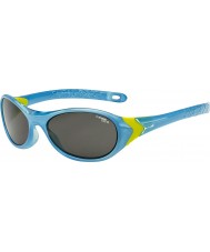 Cebe Cricket (Age 3-5) Crystal Blue Lime Sunglasses