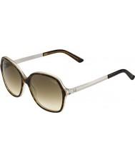 Gucci Ladies GG 3676-S 4WJ YY Tortoiseshell Sunglasses