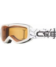 Cebe 1350D002XS Teleporter White - Orange Ski Goggles