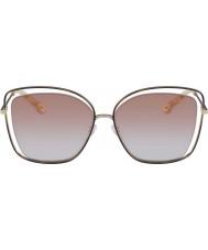 Chloe Ladies CE133S 211 60 Poppy Sunglasses