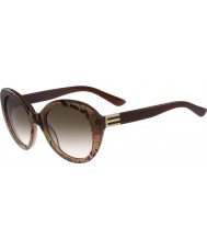 ETRO Ladies ET609S Brown Pattern Sunglasses