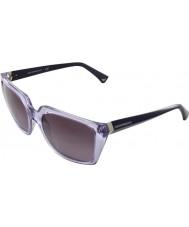 Emporio Armani EA4026 56 Essential Leisure Lilac 50718H Sunglasses