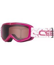 Cebe 1350D003XS Teleporter Pink - Dark Rose Ski Goggles