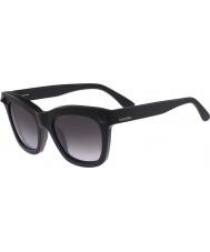 Valentino Ladies V723S Matte Black Sunglasses