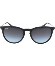 RayBan RB4171 54 Erika Rubber Black 622-8G Sunglasses