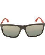 RayBan RB4228 58 Active Lifestyle Shiny Grey 618588 Mirrored Sunglasses