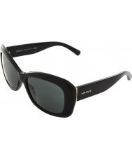 Versace VE4283B 57 Rock Icons Black GB1-87 Sunglasses