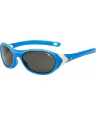 Cebe Cricket (Age 3-5) Matt Cyan White 1500 Grey Blue Light Sunglasses
