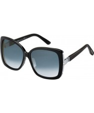 MaxMara Ladies MM Joan II 807 VK Black Sunglasses