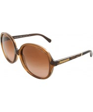 Michael Kors MK6007 58 Tahiti Milky Brown Snake 301113 Sunglasses