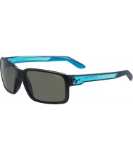 Cebe Dude Matt Black Crystal Blue Sunglasses