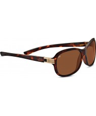 Serengeti Isola Satin Tortoiseshell Polarized Drivers Sunglasses