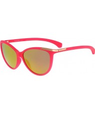 Calvin Klein Jeans Ladies CKJ767S Matte Hot Pink Sunglasses