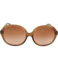 Michael Kors MK6007 58 Tahiti Milky Brown Snake 301113 Sunglasses