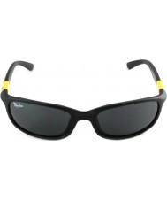 RayBan Junior RJ9056S 50 Matte Black 195-87 Sunglasses