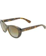 RayBan RB4227 55 Highstreet Light Havana 710-T5 Polarized Sunglasses