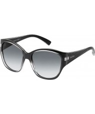 MaxMara Ladies MM S.Diego II 2P0 F8 Black Grey Sunglasses