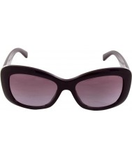 Versace VE4287 56 Pop Chic Eggplant Violet 50668H Sunglasses