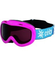 Cebe 1096S156 Jerry Fuchsia - Dark Rose Ski Goggles