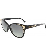 Versace VE4270 56 Rock Icons Black Grey Gradient GB1-11 Sunglasses