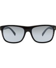 Revo RE1020 Lukee Black Woodgrain - Graphite Polarized Sunglasses