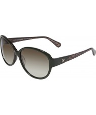 DVF Ladies DVF542S Daniela Hunter Sunglasses