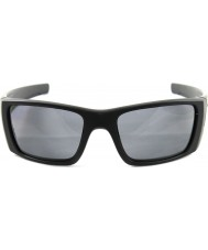 Oakley OO9096-05 Fuel Cell Matte Black - Grey Polarized Sunglasses