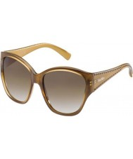 MaxMara Ladies MM S.Diego II 57L S8 Brown Sunglasses