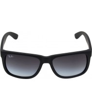 RayBan RB4165 55 Justin Rubber Black 601-8G Sunglasses
