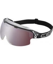 Cebe CBG80 Cliff Black - Clear Yellow - Dark Rose Flash Mirror Ski Goggles