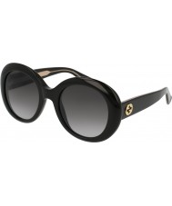 Gucci Ladies GG0139S 001 Sunglasses